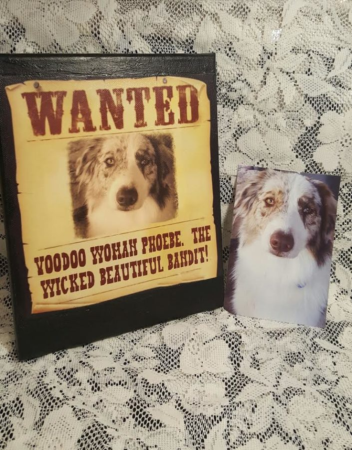 Personalized Wanted Canvases